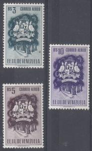 Venezuela Scott C497-9 Mint hinged (Catalog Value $37.50)