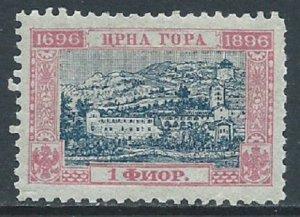 Montenegro, Sc #55, 1fl MH