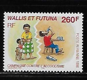 Wallis and Futuna Islands C193 Control Alcoholism single MNH