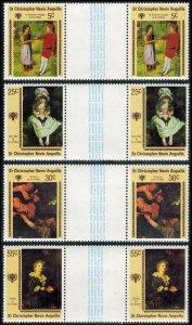 Saint Kitts-Nevis Scott 388-391 Mint never hinged.