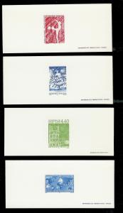 FRANCE (4) Different Deluxe Sheets All MINT NEVER HINGED Lot 15 of 19