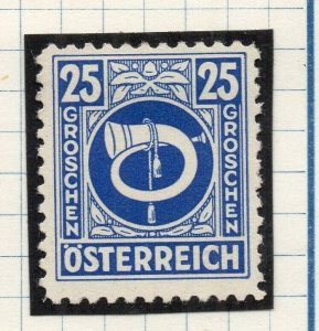 Austria 1945 Early Issue Fine Mint Hinged 25g. NW-120281