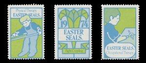 USA CINDERELLA STAMP. EASTER SEAL 1974. UNUSED. # 31