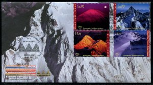 .392-395 UN - Geneva Int'l Year of Mountains OFDC