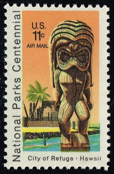 US #C84 Kii Statue and Temple; MNH (0.25)