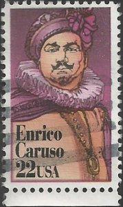 # 2250 USED ENRICO CARUSO