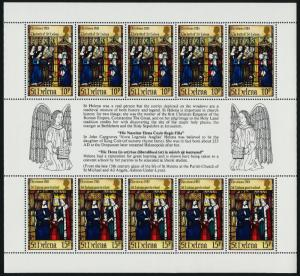 St Helena 398 MNH Christmas, Stained Glass