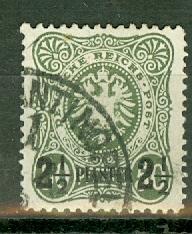 Germany Turkey 6a used CV $210
