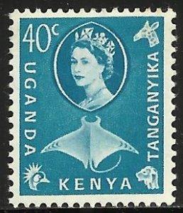 Kenya, Uganda & Tanzania 1960 Scott# 126 MH