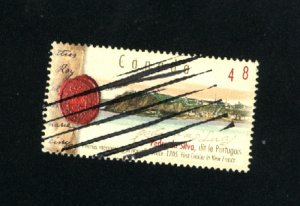 Canada #1988  -4   used VF 2003 PD