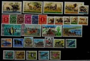 Tanzania J1/036 MNH lot SCV24.90