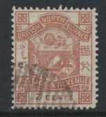 North Borneo  SG 38b  Lake Brown   Used  / FU    please see scan & details