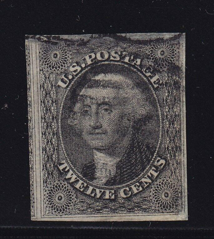 17 VF-XF 4 margins used neat cancel with nice color ! see pic !