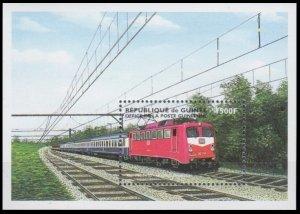 1998 Guinea 2189/B565 Locomotives 8,00 €