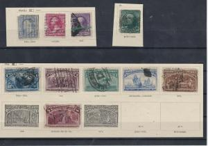 United States Stamps On Part Pages Ref: R8090