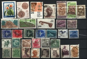 India 33 different  used PD