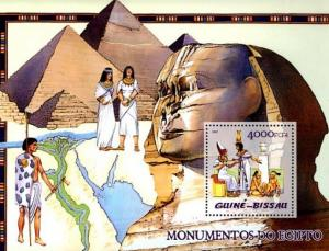 Guinea-Bissau MNH S/S Egyptian Monuments 2005