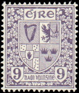 Ireland #74, Incomplete Set, 1922-1923, Never Hinged