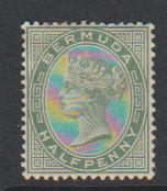 Bermuda SG 21a heavy mounted mint see description details
