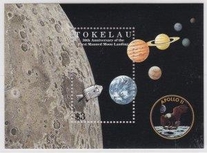 Tokelau # 266-271 & 272, Moon Landing 30th Anniversary,  NH, 1/2 Cat