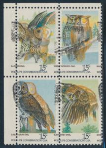 #1760-1763 OWLS MAJOR COLOR SHIFT ERROR BR2831