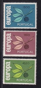 Portugal  #958-960   MNH  1965  Europa