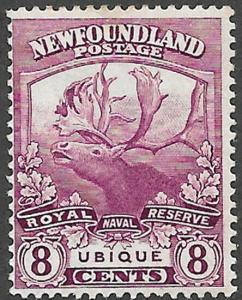 Newfoundland Scott Number 121 F HR