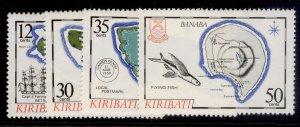 KIRIBATI QEII SG145-148, complete set, NH MINT.
