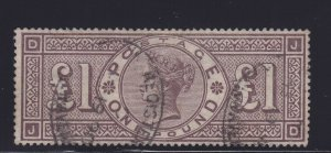 GB Scott # 110 VF Scarce used neat cancel with nice color cv $ 3000 ! see pic !