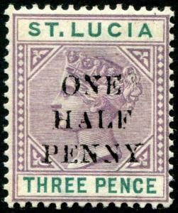 HERRICKSTAMP ST. LUCIA Sc.# 40 Mint LH Scott Retail $95.00
