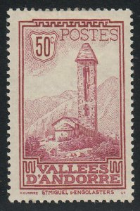 Andorra-French - 1932 - SC 37 - H