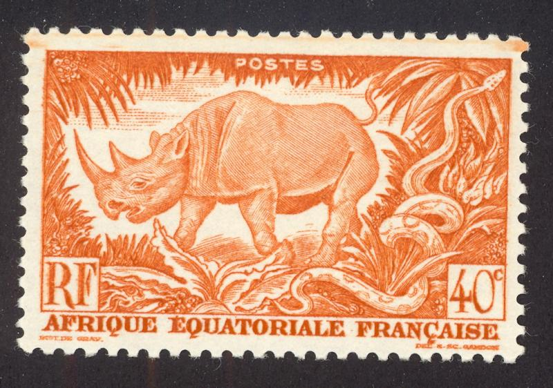 French Equitorial Africa 168 MNH