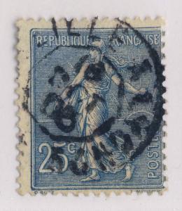 FRANCE - 1906 - CàD AMBULANT JOUR  MARSEILLE À LYON 2° / E   sur n°132