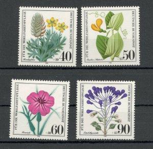 GERMANY -MNH SET-FLORA-FLOWERS-1980.