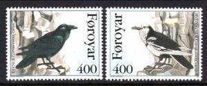 Faroe Islands 287-288 Birds MNH VF