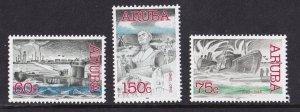 Aruba   #222-224  MNH   2002  Aruba in  world war II