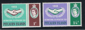 PITCAIRN ISLANDS 1965 COOPERATION YEAR
