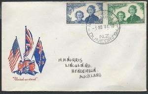 NEW ZEALAND 1944 Patriotic cover INDUSTRIES FAIR DUNEDIN cds...............42949