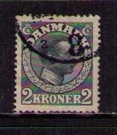 DENMARK Sc# 133 USED FVF King Christian X