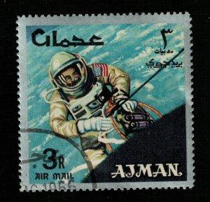 Space 1966 Airmail - Space Achievements, Ajman 3Riyal (TS-562)
