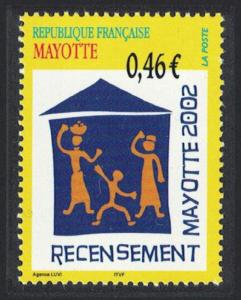 Mayotte National Census 1v SG#172