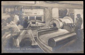 Germany 1915 WWI Navy SMS Derfflinger MSP107 Feldpost Cover Marineschiffsp 88250