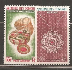 Comoro Islands SC C8-9 Mint Never Hinged