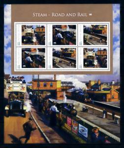 [93253] Guinea-Bissau 2012 Railway Train Eisenbahn Souvenir Sheet MNH