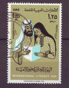 J20789 Jlstamps 1974 uae hv of set used #42 people