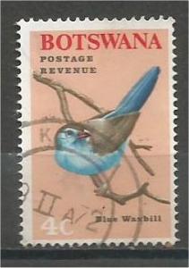 BOTSWANA, 1967, used 4c, Birds, Scott 22