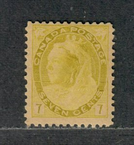 Canada Sc#81 M/H/F, Cv. $150