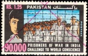 A Plea for Pakistani Prisoners of War in India, Pakistan SC#339 used