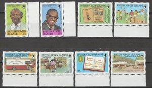 COLLECTION LOT # 4336 VIRGIN ISLANDS #783-90 MNH 1993 CV+$14