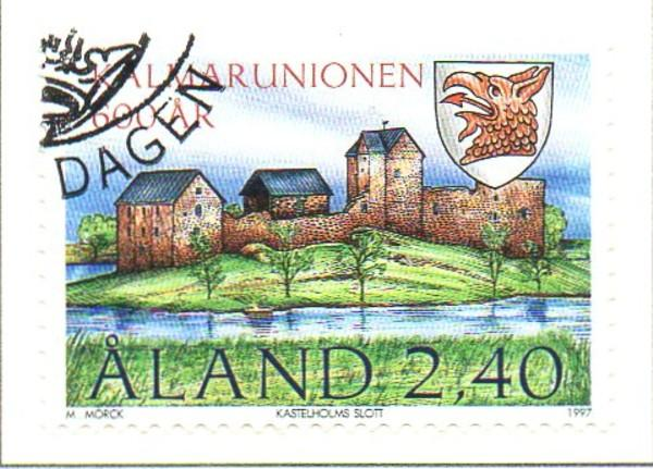 Aland Sc  136 1997 Kalmnar Union stamp used